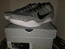 Nike Kobe 11 XI Elite Low Oreo Grey White Size 11. 822675-100 Jordan Beethoven