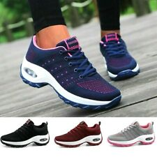 Lace up Women Sports Shoes Air Sole Athletic Shoes Breathable Sneakers Outdoor