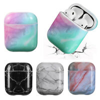Marble Pattern Protective Sleeve Case Cover Skin for Apple Airpod 1 / 2 EarPhone