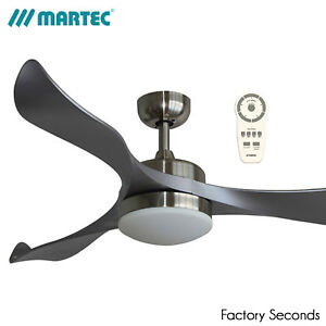 """Martec Scorpion 52"""" 1300mm DC Ceiling Fan with 20W LED Light and Remote"""
