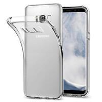 Dünn Slim Cover Samsung Galaxy S8 Handy Hülle Silikon Case Schutz Tasche