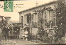 94 IVRY-SUR-SEINE CARTE POSTALE ETS HORTICOLE CHARON 1914