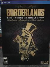 PS4 Borderlands the handsome collection gentleman claptrap in a box edition