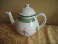 "CALECA Hand Painted Italian Tea Pot  ""Belvidere Pattern"" -  7 3/4""  - NEW!"