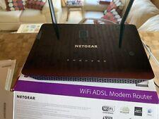 NETGEAR ROUTER AC750 WIFI ADSL2MODEM ROUTER