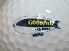 (1) GOODYEAR TIRES  LOGO GOLF BALL