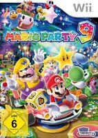 Nintendo Wii Spiel - Mario Party 9 DE/EN mit OVP