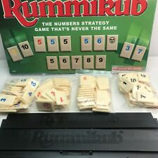 Rummikub Board Game Original Rare Strategy Game By Tomy 1995 Complete