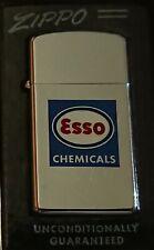 Very Rare Vintage ESSO Slim Zippo Lighter, circa 1964