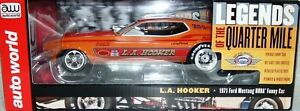 1971 FORD MUSTANG LA HOOKER FUNNY CAR AUTO WORLD 1:18 SCALE DIECAST MODEL CAR