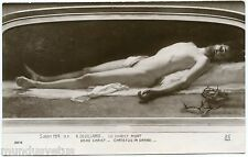 Salon 1914. R. Devillario. The Christ Mort. Dead Christ. Religion. Faith