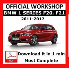 >> OFFICIAL WORKSHOP Manual Service Repair BMW Series 1 F20 F21 2011 - 2017