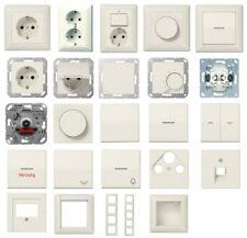 JUNG AS 500 cremeweiß Schalter, UP, Steckdosen, Rahmen, Abdeckungen Auswahl