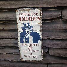 Uncle Sam Patrotic Americana Primitive Rustic Country Home Decor