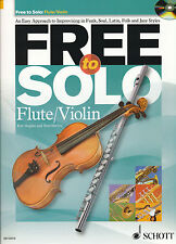 Rob Hughes and Paul Harvey - Free to Solo: Flute/Violin + CD