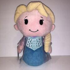 "Itty Bittys Biggys Disney Frozen Elsa 11"" New Plush w/ Tags"