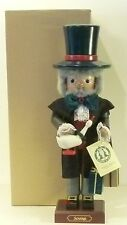 "Ulbricht German Wooden Big Nutcracker ""Scrooge� 0/123 Limited New"