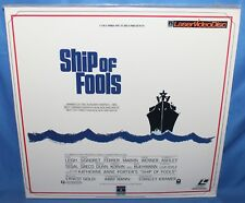 SHIP OF FOOLS 1965 LASERDISC COLUMBIA PICTURES HOME VIDEO LASER DISC 2 DISC