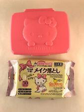 Hello Kitty Wet Wipes (30 sheets) + Case Set - Sanrio Japan Japanese Kids