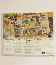 New Creative Memories Scrapbooking Coffeehouse Photo Mounting Paper 10x12