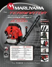 Maruyama BL9000 Backpack Blower. Most Powerful Backpack Blower you can buy!