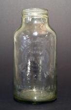 Vintage Horlick's Malted Milk Jar, Racine, Wisc & Slough Bucks England, 1 Gallon