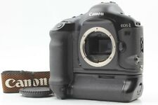 【EXC+5 / Count 028】 Canon EOS-1V HS 35mm SLR Camera Body w/ PB-E2 From Japan