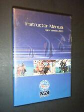 PADI 2003 Instructor's Manual Digital Version CD-ROM Software for Windows & Mac