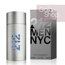 CAROLINA HERRERA 212 MEN NYC 100ML PROFUMO UOMO MEN HIM HOMME SPRAY