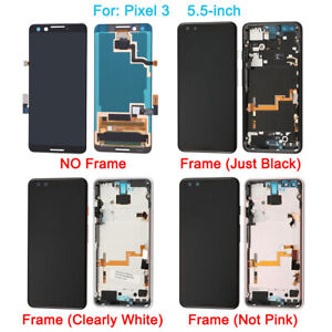 OEM LCD Touch Screen Digitizer Replacement For Google Pixel 2 3 3A 4A 4 XL 5 Lot