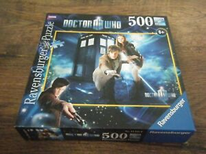DOCTOR WHO RAVENSBURGER 500 PIECE JIGSAW PUZZLE 2009 MATT SMITH 11TH DOCTOR