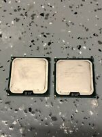 Lot of TWO (2) Intel Xeon 5150 2.66GHz Dual Core Processors Socket 1366