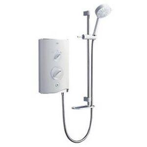Mira Sport Electric Shower White/Chrome 10.8kW Model: 1.1746.004