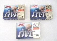 Jvc Dvc 60 Min Tape (Pack of 3)