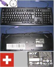 Clavier Qwertz Swiss-Allemand ACER KB2971 KB-2971 KB.KBP03.313 port PS/2