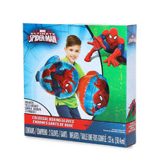 """Marvel Ultimate Spider-Man Colossal Boxing Gloves Measures 23"""" L when inflated"""