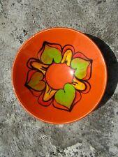 More details for vintage poole pottery ceramic bowl - mid century delphis range - retro decor