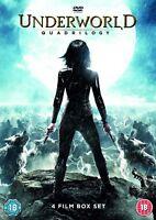 Underworld Quadrilogy 4 Film Box-set [DVD] [2016] Kate Beckinsale New Sealed