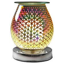 Desire Aroma Oval Wax Melt Burner Touch Sensitive Lamp 3D Cascade Lights Design