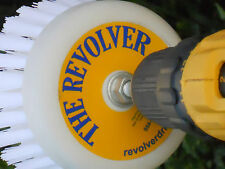 The REVOLVER-POWER SCRUB-DRILL BRUSH--AUTO DETAILING--TRUCK, RV, HOME & BOAT!!!!