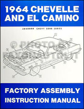 1964 Chevelle El Camino and Malibu Assembly Manual 64 Chevy Chevrolet Factory