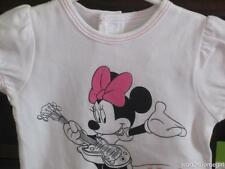 NWT/Disney Infant Girls Bodysuit/3-6 Mos/MINNIE MOUSE Guitar/Add an Inch/New!