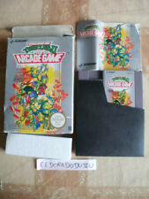 ELDORADODUJEU > TURTLES II THE ARCADE GAME Pour NINTENDO NES EN BOITE COMPLET