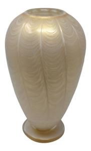Piume Feather Glass Vase by Gambaro & Poggi