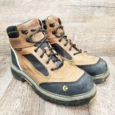 "New listing Wolverine Overman 6"" Composite Toe Waterproof Work Boot W10485 Wheat Men's 9.5"