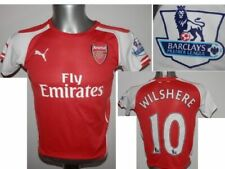 2014-15 FC Arsenal Wilshere #10 Home Football shirt Soccer Jersey youth 30-32 YL