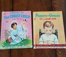 2 Vintage Children's Books Tip-Top Elf Books