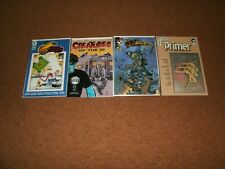 SDCC Comics 2, Creatures Of The Id 1, The Darkness 1, Comico Primer 5 1st Prints