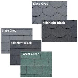 Roofing Felt Shingles | Roofing Felt Tiles | Square & Beavertail Shed Roof Tiles