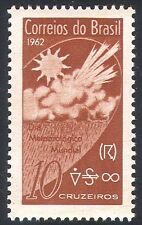 Brazil 1962 Weather/Meteorology/Sun/Raincloud/Nature 1v (n27424)